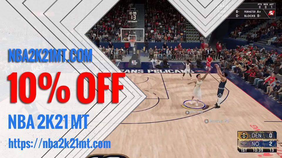 NBA 2K21 Hud