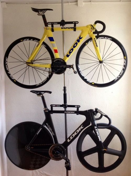 Gives whole new meaning to the term track stand