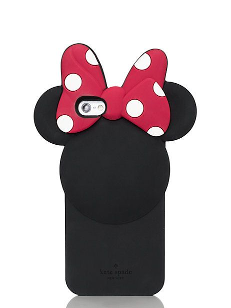 finest selection f10af 66e5d kate spade new york for minnie mouse iphone 6 case | now that's ...