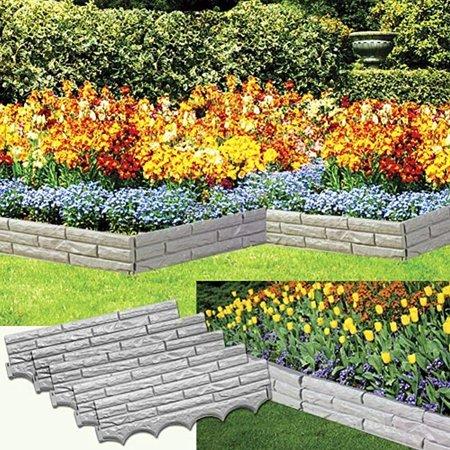 Patio & Garden Garden stones, Brick garden edging, Brick
