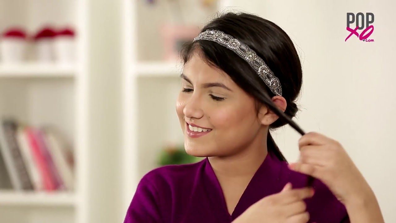 3 Easy Hair Band Hairstyles! | Pretty Hairstyles For Girls - POPxo | Pretty hairstyles, Easy ...