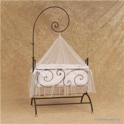 Bratt decor casablanca zanzibar cradle color slate baby lit miniature - Lit pour bebe casablanca ...