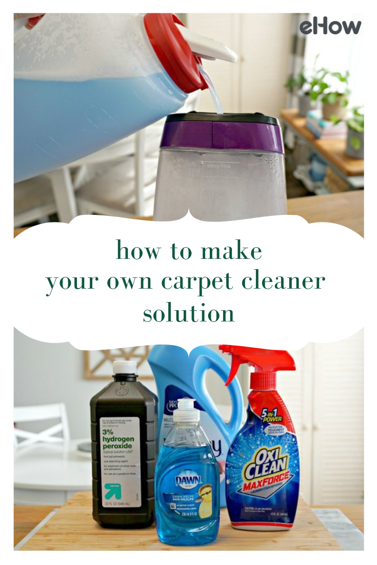 How To Make Your Own Carpet Cleaner Solution