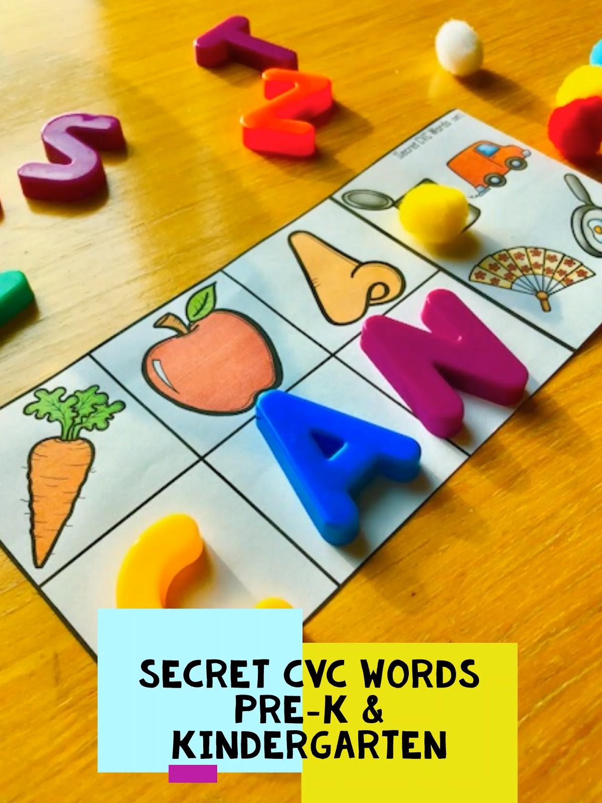 Preschool And Kindergarten Phonics Activities And