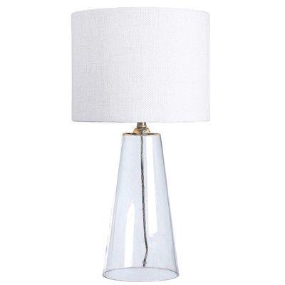 Brayden Studio Dania 29 5 Table Lamp Table Lamp Clear Glass Table Lamp Lamp