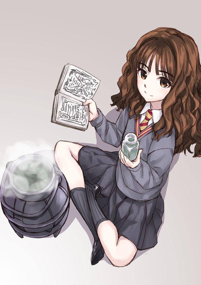 Hermione Granger Harry Potter Anime De Harry Potter Harry