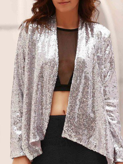 GET $50 NOW   Join Zaful: Get YOUR $50 NOW!http://m.zaful.com/asymmetric-long-sleeve-sequins-coat-p_162235.html?seid=2028431zf162235