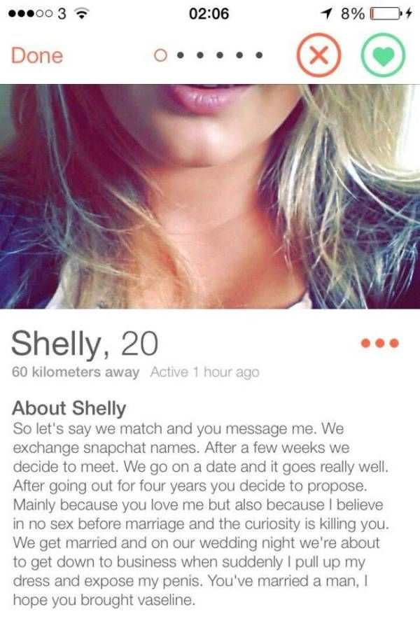 ef178987 27 People On Tinder Who Absolutely Deserve A Swipe Right   Facts