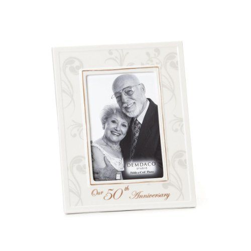DEMDACO From This Day Forward 50th Anniversary Frame, 4 by 6-Inch ...