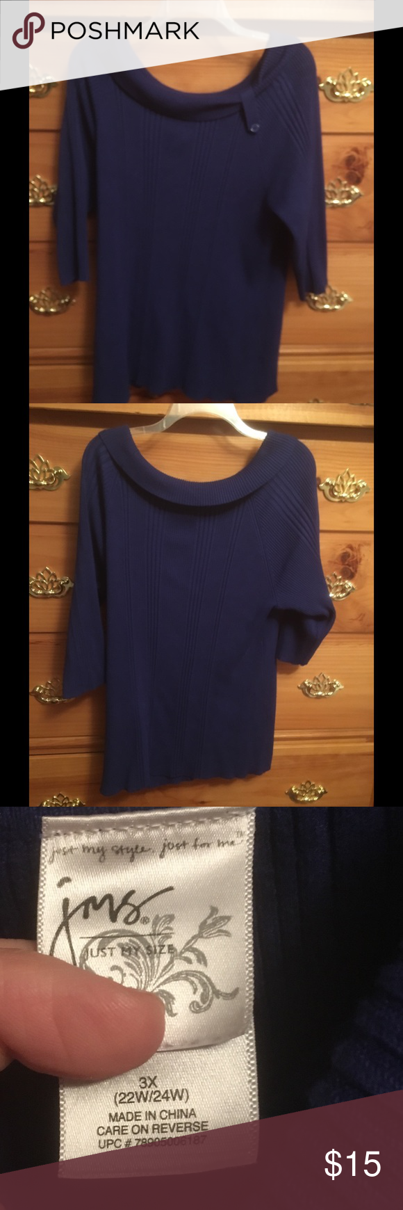 Cute Cobalt blue sweater 3X ‼️CLEARANCE SALE ‼ ‼ Pretty Cobalt ...