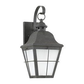 Sea Gull Lighting Chatham 14.5-In H Oxidized Bronze Outdoor Wall Light Energy Star 89062Ble-46
