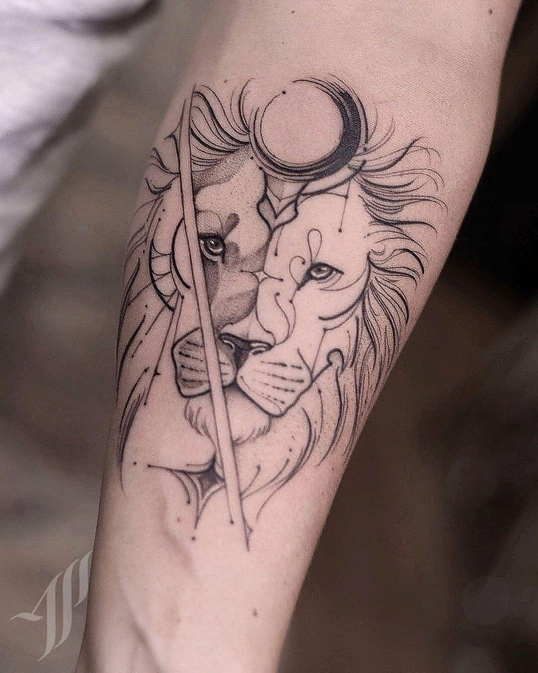 """Alessandro Pikeno on Instagram: """"Leão com ornamento!! @ap.tattoostudio…"""""""
