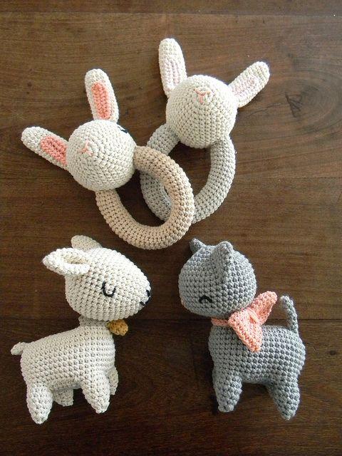 CUTE Duck Baby Set//Bib//Toy+//Crochet Pattern INSTRUCTIONS ONLY