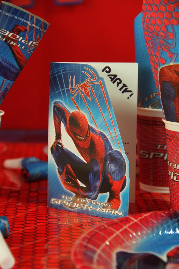 Decoration D Anniversaire 100 Spiderman Anniversaire Spiderman