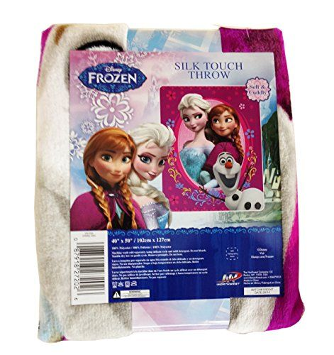 Disney Frozen Spring Zing Silk Touch Throw 40 X 50 You Can Get Additional Details At The Image Link Disney Frozen Silk Touch Frozen