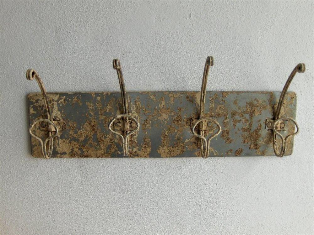 Hakenleiste Garderobe  42 cm chabby chic Wandgarderobe