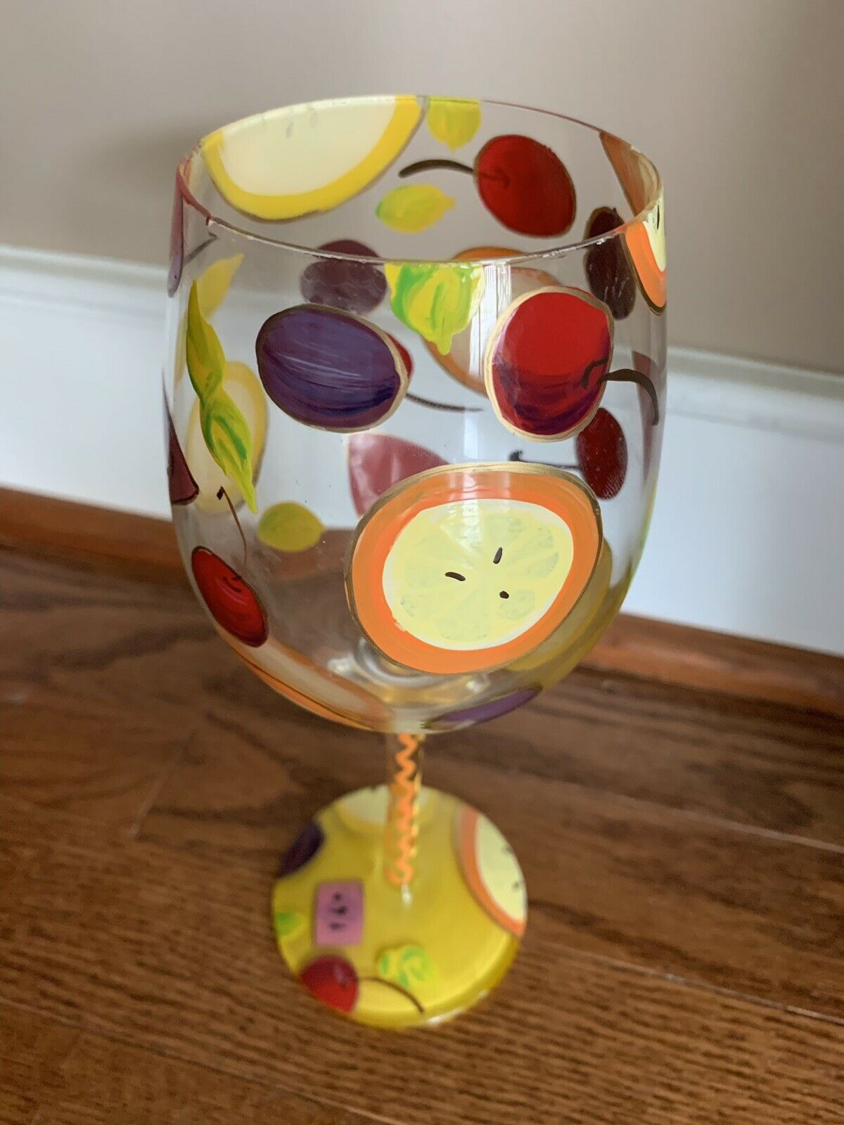 Enesco Lolita Wine Glass ~ Hand Painted ~ Original Gift Box ~ Many Styles