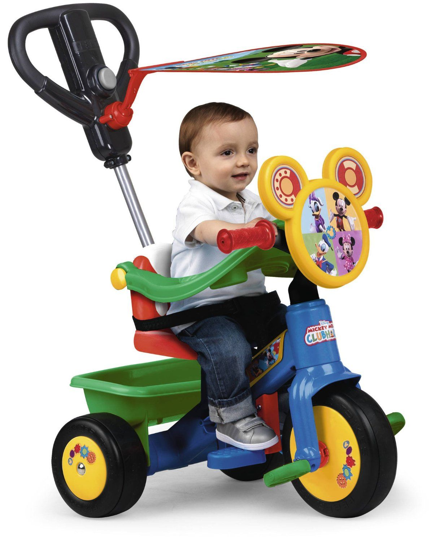 Triciclo Mickey Mouse Disney Fabricado Por Feber 700012545 Triciclos Para Niños Coche Para Niños Tienda De Juguetes