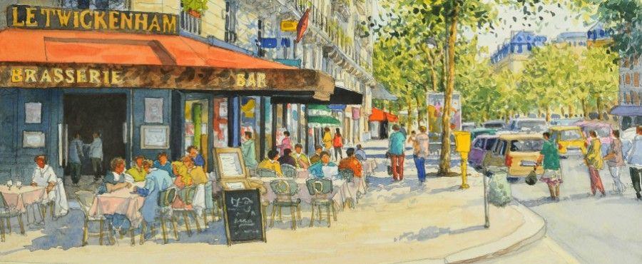 Jean Charles Decoudun Peinture Paris Comment Peindre Ville En