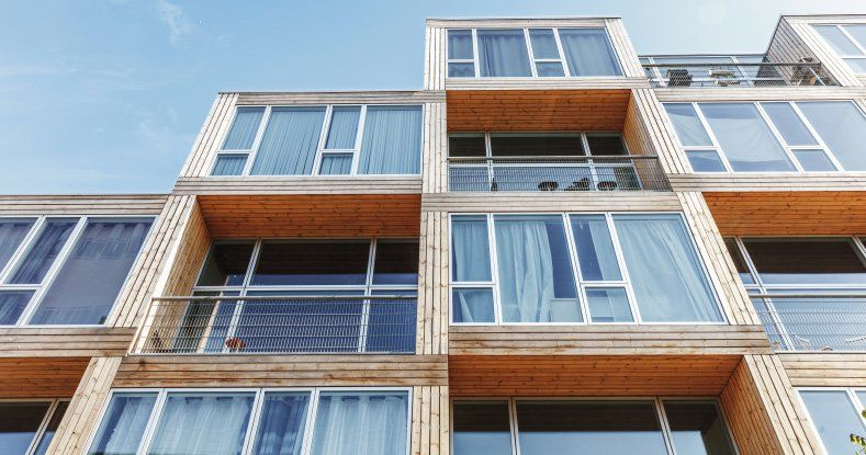 Big Completes Low Income Housing Development In Copenhagen Prefab Affordable Housing Low Cost Housing