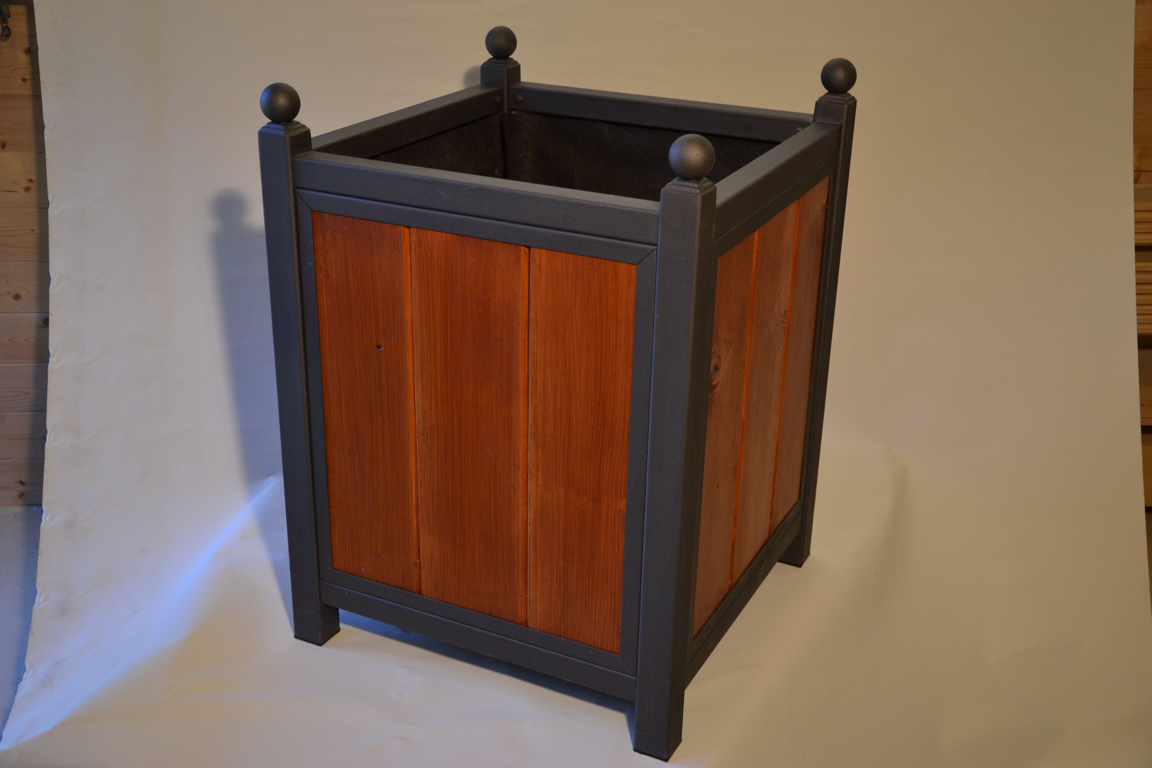 Pin D Oregon Couleur Épinglé sur jardinière caisse d'orangerie bois/acier model