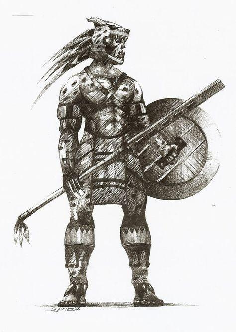 Xilan Warrior (5e Class) - D&D Wiki in 2019 | African