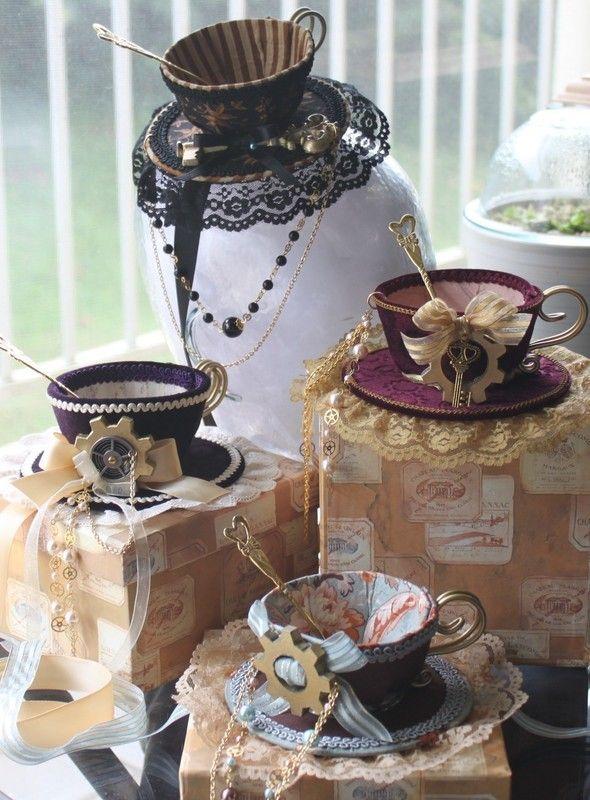 Darling Tea Cup Hat Topper #teacups