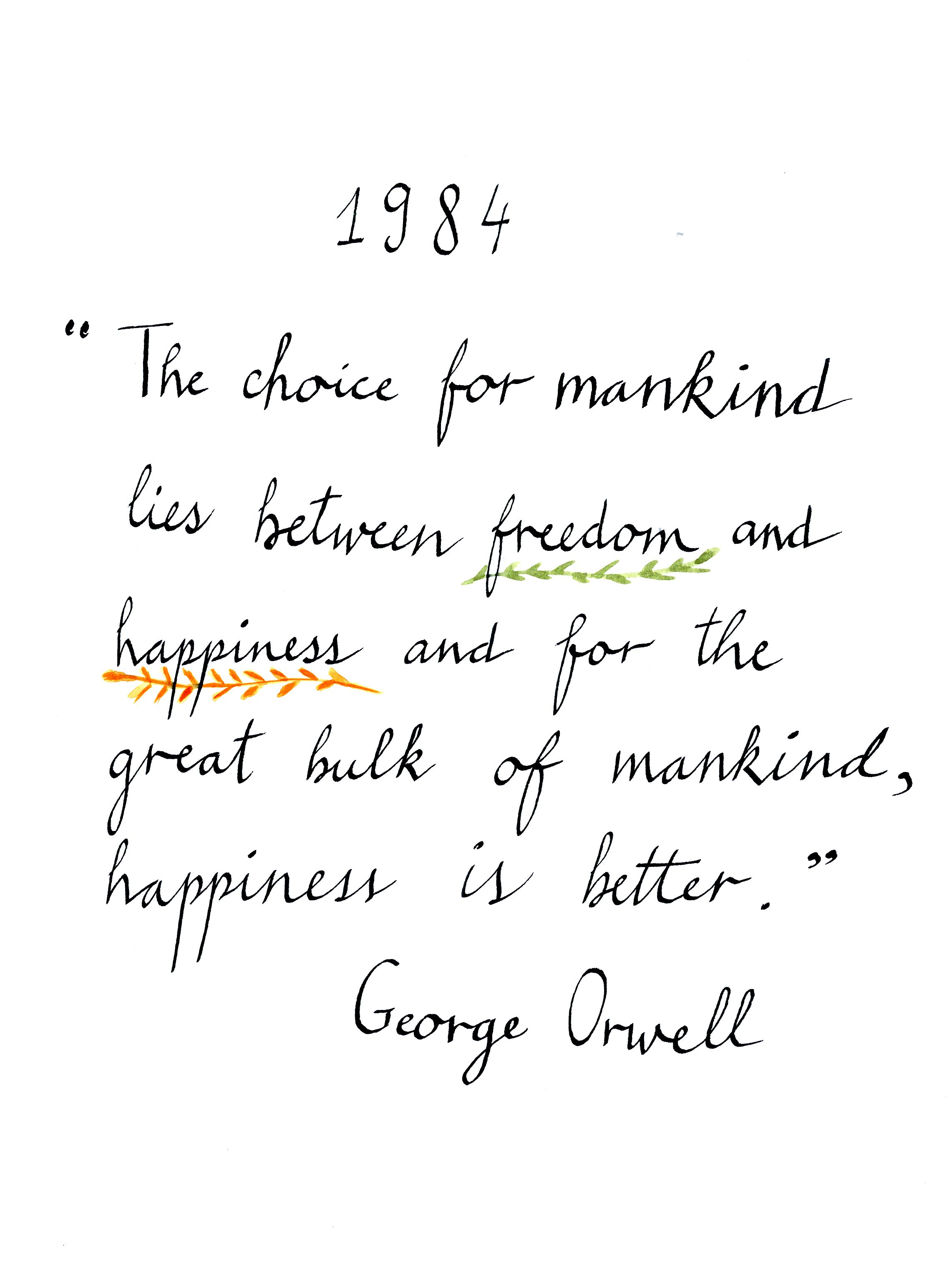 George Orwell 1984 Books Quotes Stuff To Know Pinterest