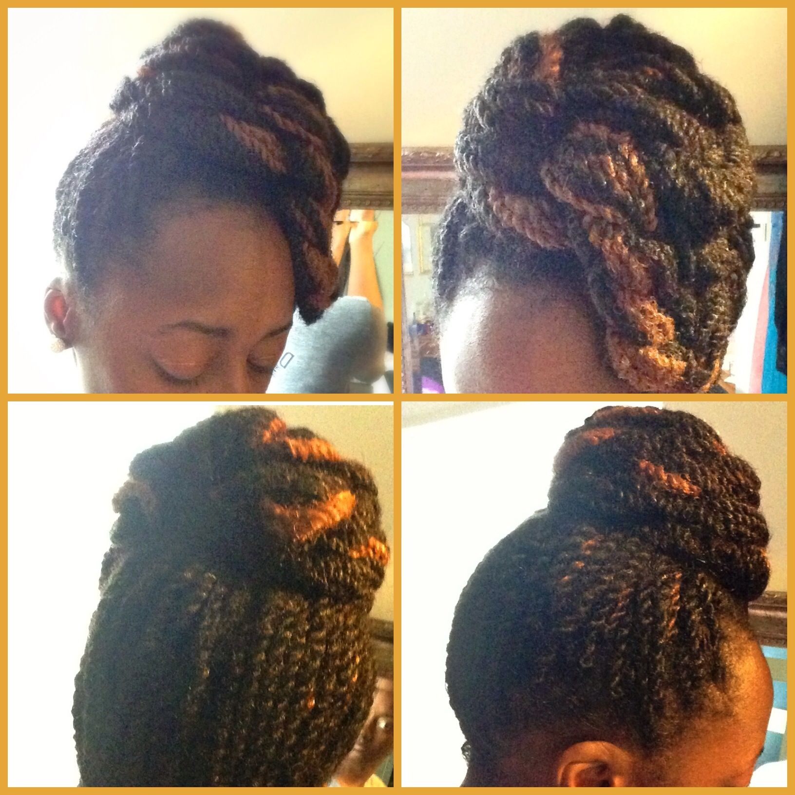 Natural hair sheshe knots pinterest