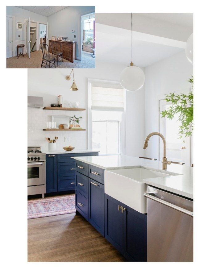 the before and after shots of this kitchen are impressive domino kitchen design kitchen on kitchen organization before and after id=44891