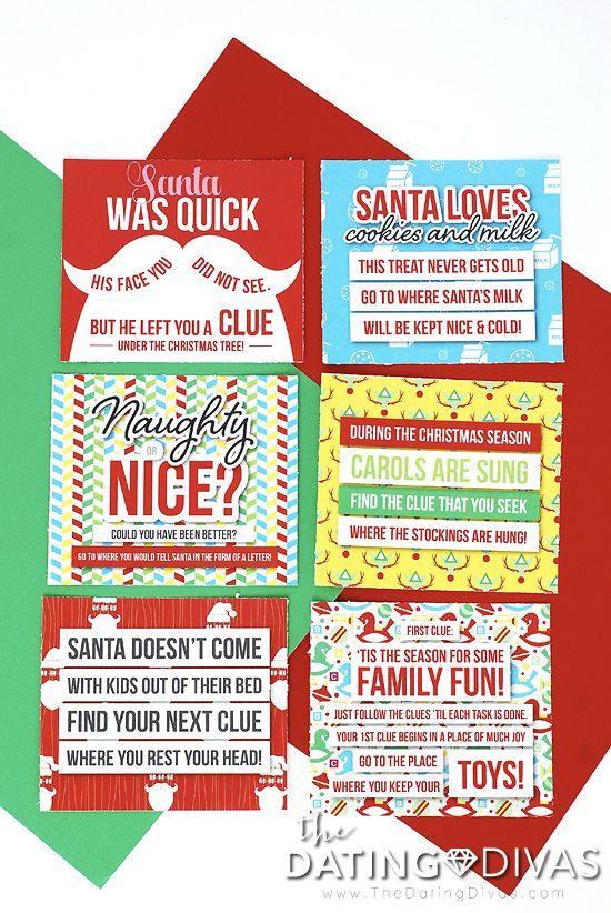 Christmas Morning Scavenger Hunt With Printable Clues