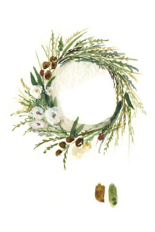 Photo of Wreath illustration