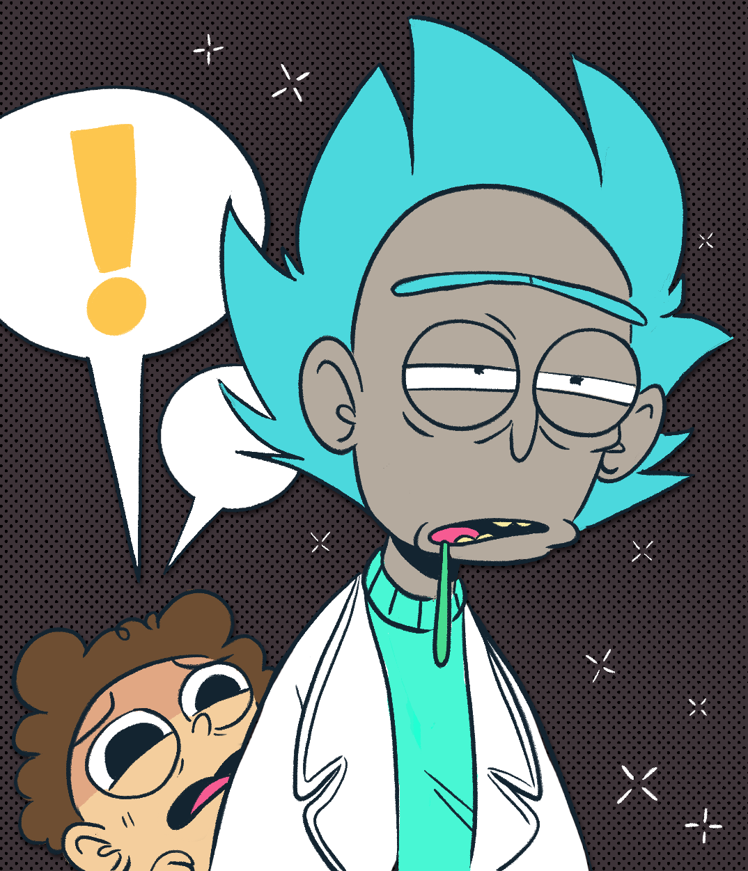 Ecokitty Rick And Morty Rick Morty