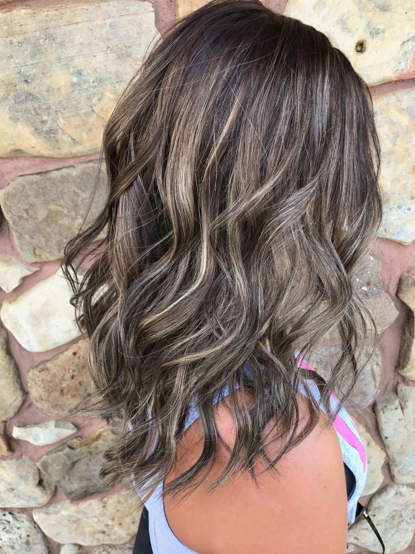Love this hairstyle #straightbalayagehighlights # ...