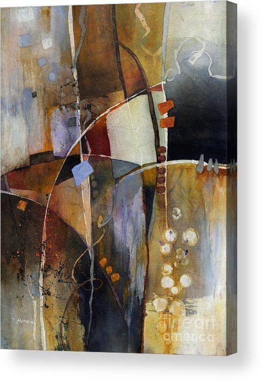 Neutral Elements Acrylic Print by Hailey E Herrera
