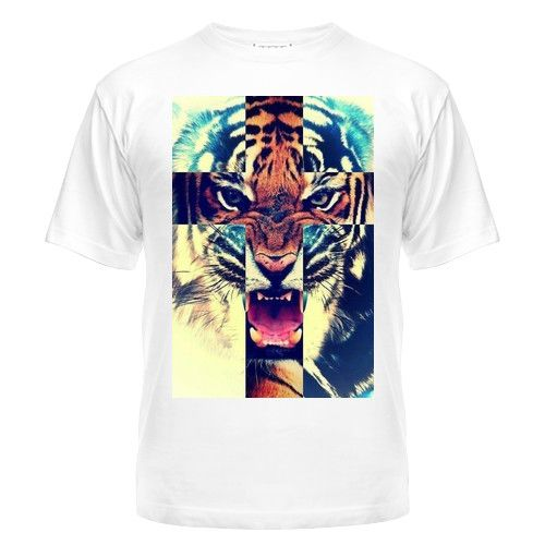Мужская футболка SWAG tiger Магазин футболок