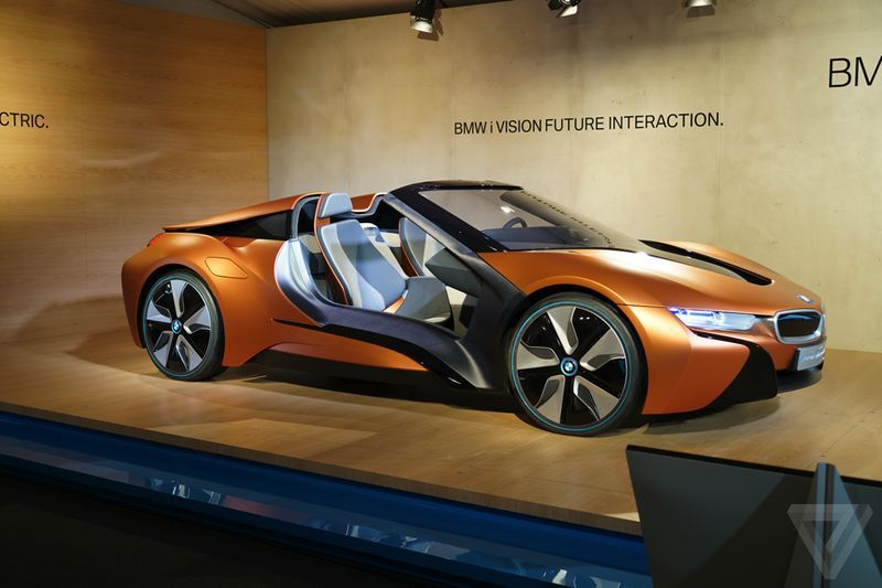 Bmw Teases With Its New Drop Top I8 Concept Bmw Bmwi8 Bmwcars