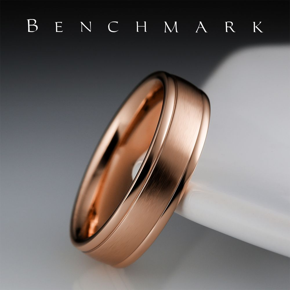 Looking For A Wedding Band To Match His Style Shop Benchmark