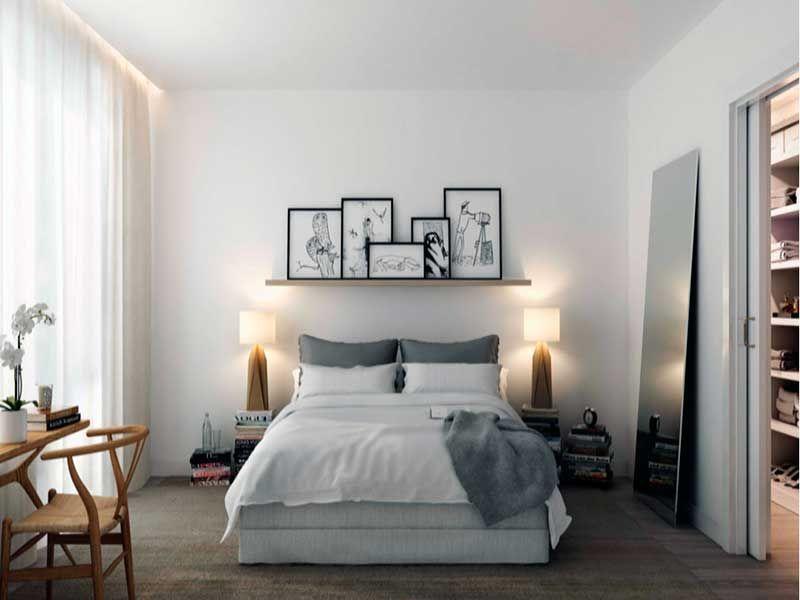 Habitaciones de matrimonio pequeñas | Habitacion | Pinterest ...