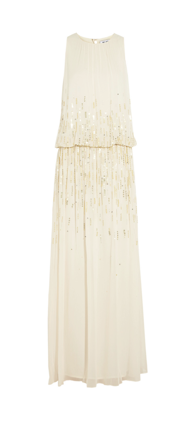ALICE by Temperley Sequined Maxi Dress