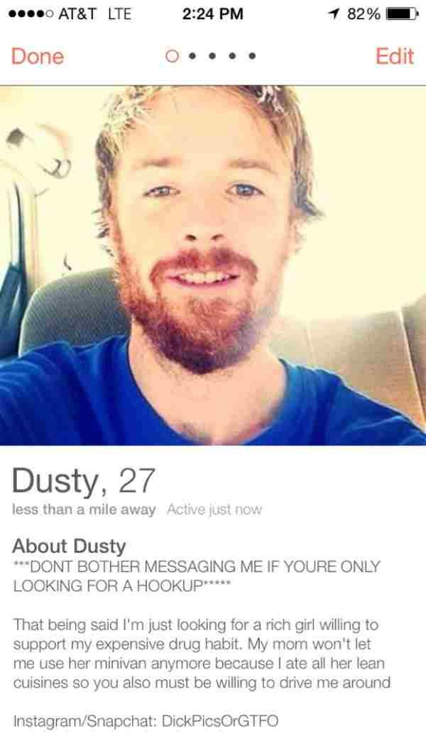 59+ Funny Tinder Bios That Are Creating Storm On Internet ...