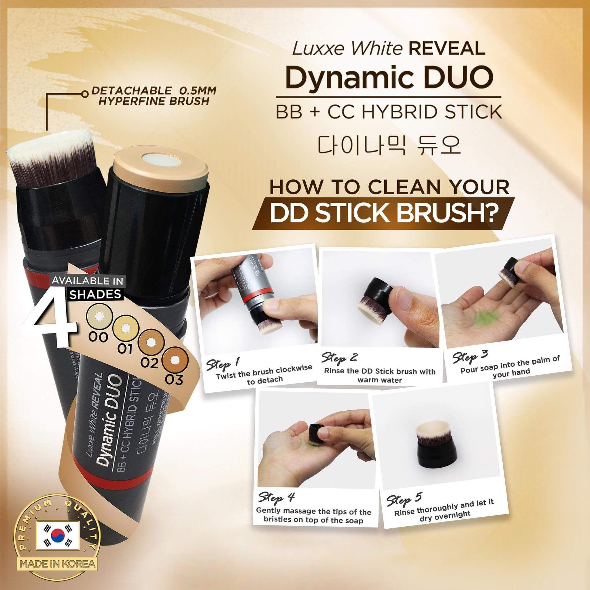 Dd Stick Dynamic Duo Bb Cream Cc Cream Hybrid Stick Spf 50 Pa