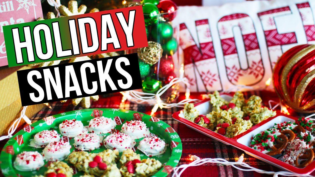 DIY Holiday Snack Ideas & Christmas Treats | LaurDIY ...