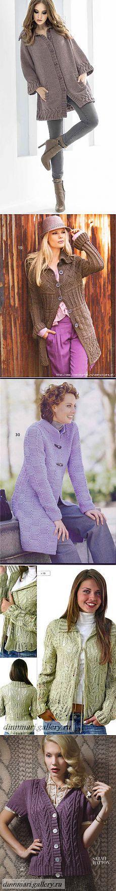 Вязание для женщин. Жакет..