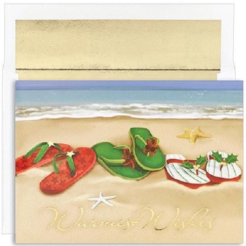 My Christmas Cards another year back ) Flip Flops On The Beach