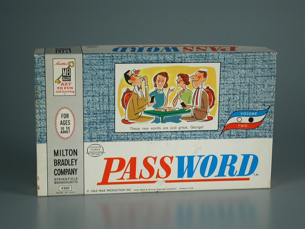 Password You need four or more players, two on a team