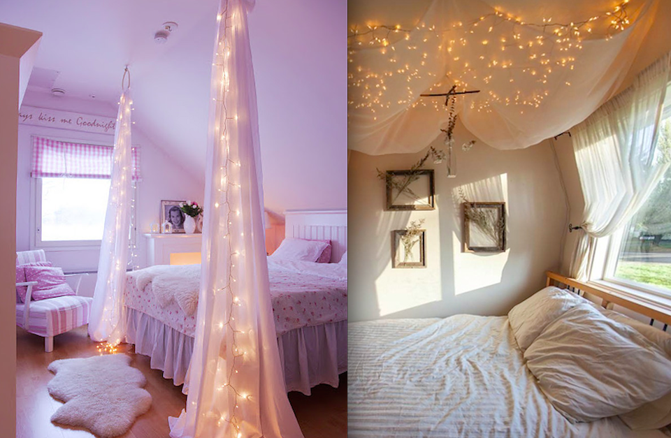14 DIY Canopies You Need To Make For Your Bedroom | Diy canopy ...
