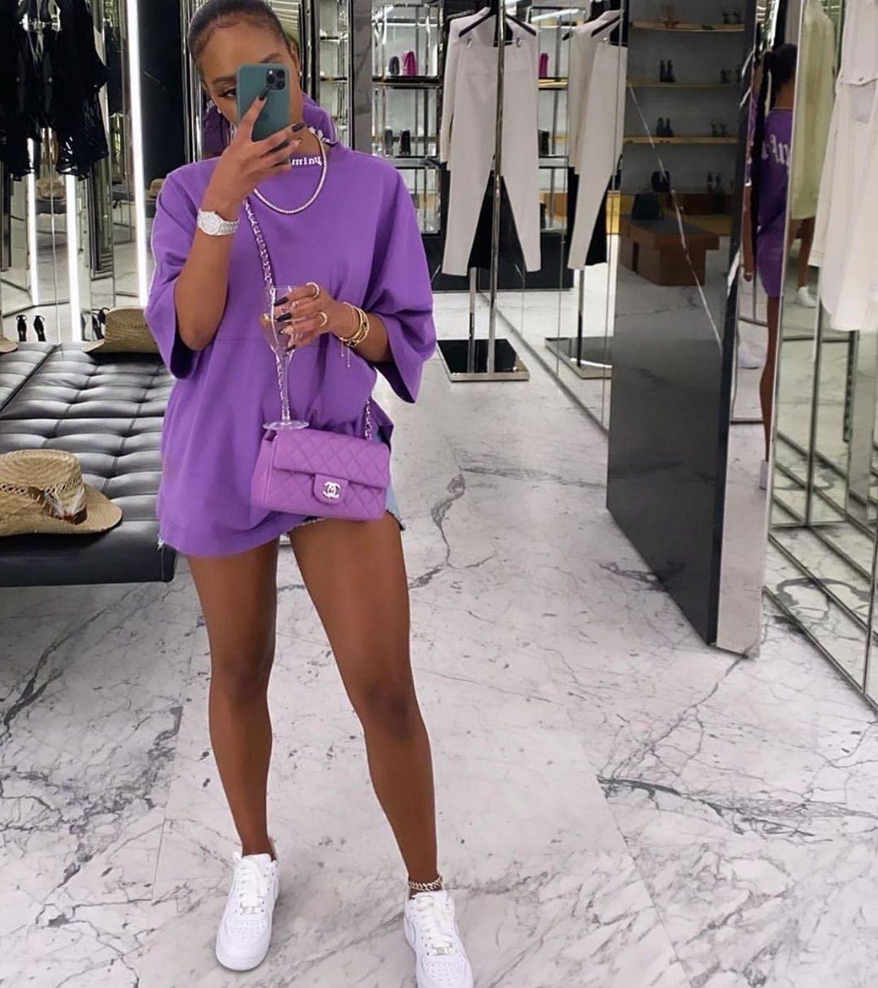 Purple Chanel Babe💜 uploaded by Luna🦋 on We Heart