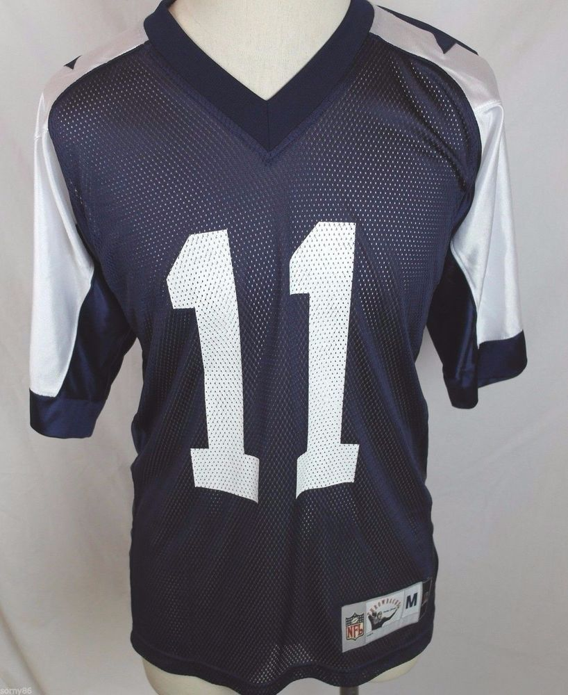 5a875cca0 Roy Williams Dallas Cowboys Jersey  11 Men s Medium M NFL Throwback  Embroidered  NFL  DallasCowboys