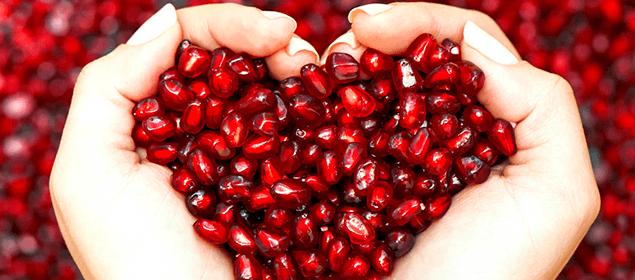 Cómo limpiar las arterias y bajar el colesterol con granada